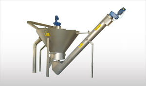 centrifugal sand separator / stationary / metal