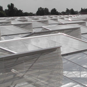 greenhouse opening / roof / with insect-proof mesh / for ventilation