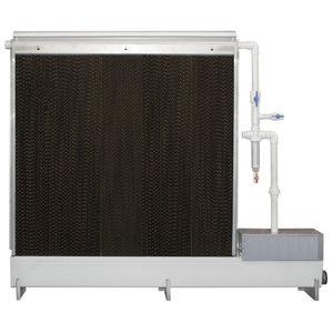 farm building evaporative cooling pad