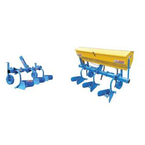 2-row ridger / 4-row / 1-row / for row crops