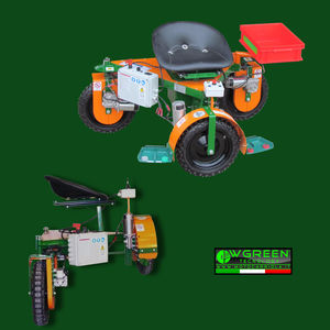 electric pruning cart / vineyard / self-propelled