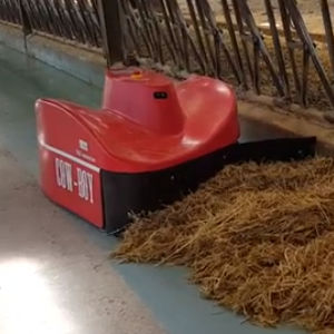 robotic feed pusher / automatic