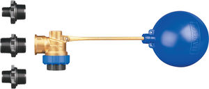 high flow rate float valve / for low flow rates / corrosion-resistant / high-pressure