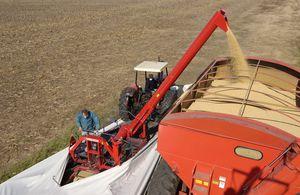 grain bag unloader / grain