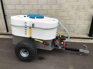 stationary calf milk cart / trailed by forklift / trailed by quad / with mixer