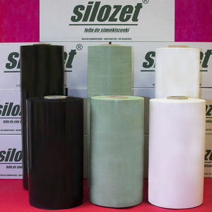 silage film / bale wrap / transparent / white