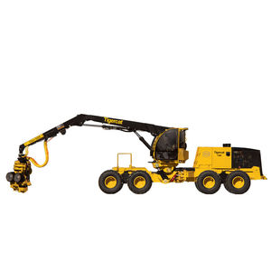 combination forestry forwarder / slope