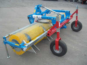 mechanical weeder / brush / mounted