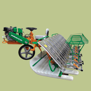 rice transplanter / automatic / 8-row / self-propelled