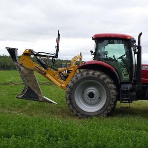 mounted drainage plow