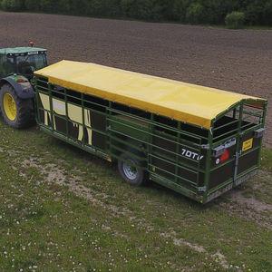 cattle trailer / single-axle