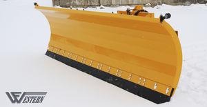 straight snow blade / with hydraulic adjustment