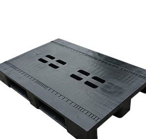 plastic pallet / lightweight / with RFID tag / recyclable