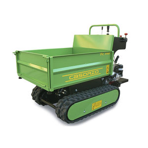 gasoline transport vehicle / with dump bed / tracked