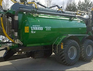 2-axle slurry spreader / trailed