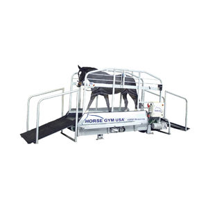 walk equine treadmill / inclined