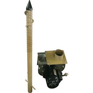 blowing ventilation rocket