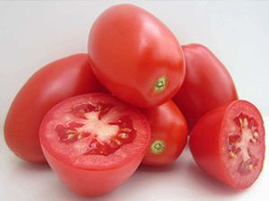 red tomato seeds / mid-late / round / hybrid