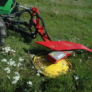 agricultural rotary cutter / front-mount / PTO-driven / weeding