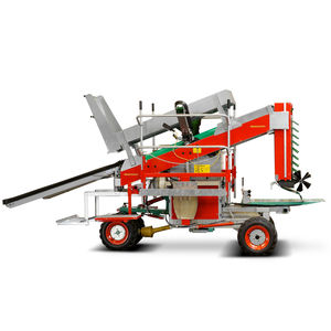 self-propelled rootballing machine / in-line