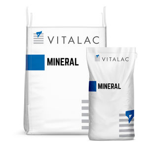 animal feed supplement / cattle / mineral / dry