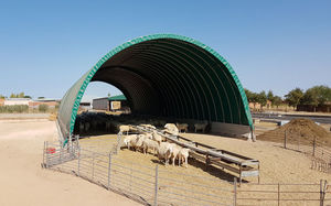 modular barn / tunnel / for cattle