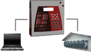poultry house monitoring system / remote / with alarm