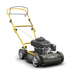 push lawn-mower / gasoline / self-propelled