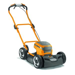 push lawn-mower / battery-powered / self-propelled