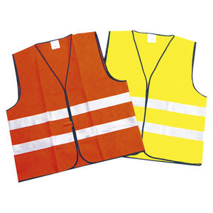 work vest / polyester / high-visibility