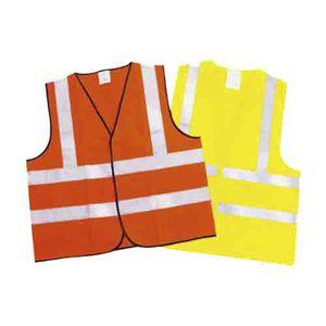 work vest / polyester / high-visibility