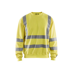 work pullover / cotton / modal / high-visibility
