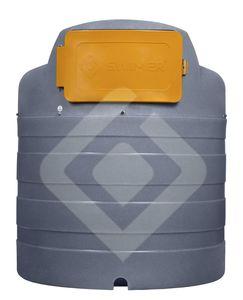 diesel fuel tank / polyethylene / UV-resistant / double-walled