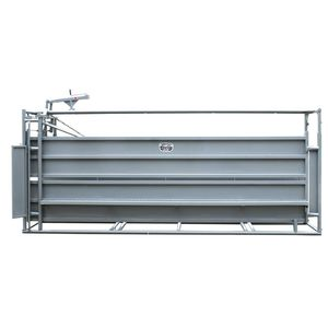cattle squeeze chute / hydraulic / with adjustable alley