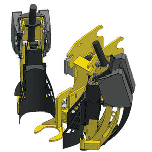 excavator rootballing machine / forestry / tree nursery