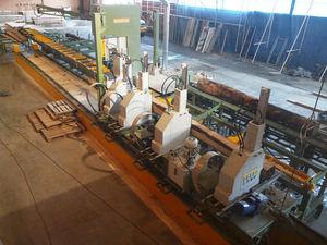 fixed headblocks log carriage