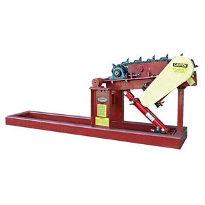 horizontal log turner