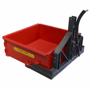 harvesting mounted transport box