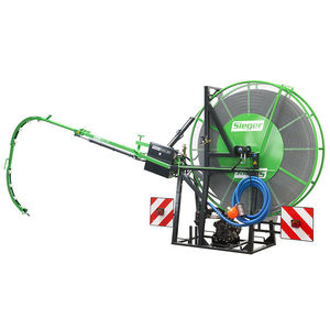 three point linkage drain jetter / with built-in lighting / four-wheel drive / hydraulically-operated