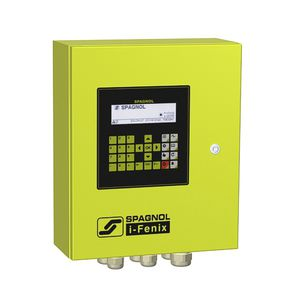 control valve irrigation controller / digital / solar-powered