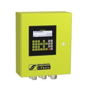 control valve irrigation controller / solar-powered / digital
