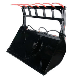 silage unloading shovel bucket / high-capacity / power grab / heavy-duty