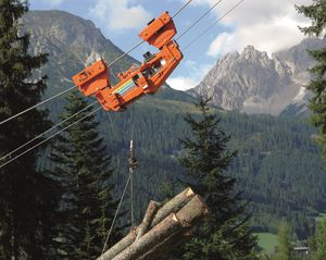 forestry hoist carriage