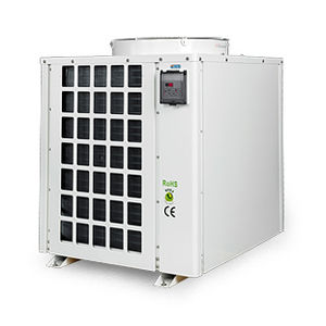 aquaculture heat pump / water/water / compact / silent