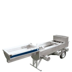 fry fish grader / 2-channel / automatic