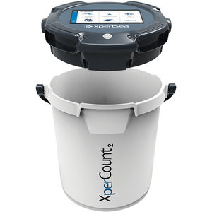 connected fish counting machine / smart / portable