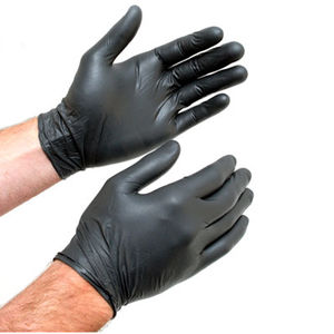 work gloves / chemical protection / nitrile / powder-free