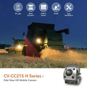 surveillance camera / rear-view / for farm machinery / waterproof