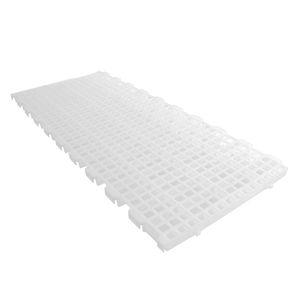 plastic slatted floor / for poultry breeding / non-slip