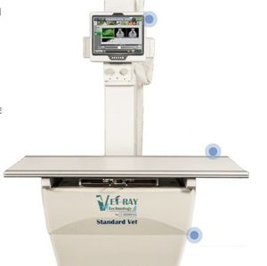 analog veterinary X-ray system / for domestic animals / fixed